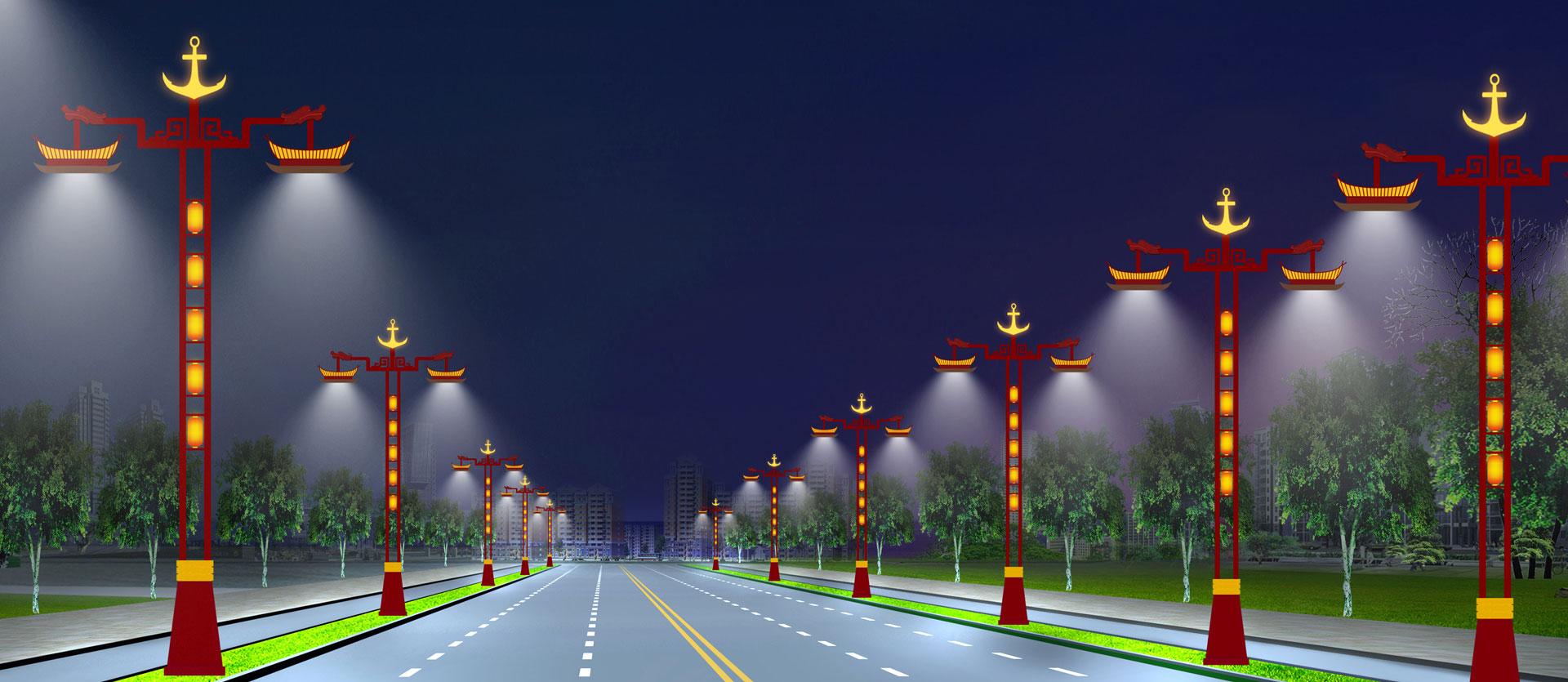 日月红景观照明banner2